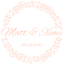 Matt & Xime's Wedding Site